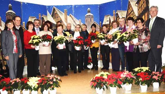 Preisträger des Ortsverschönerungswettbewerbs