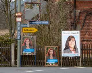 Wahlwahlplakate 2014