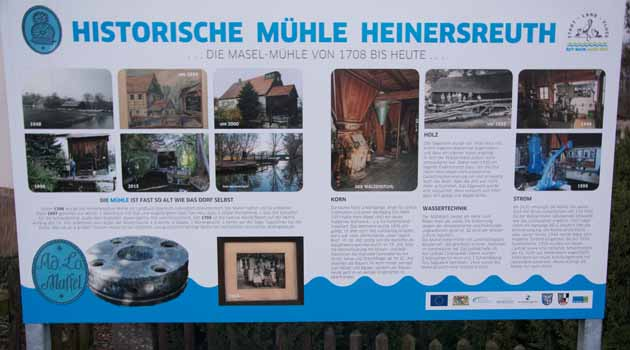 Mühle in Heinersreuth