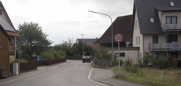 Ortsdurchfahrt Cottenbach