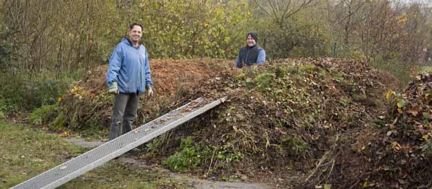 Kompostieranlage in Unterwaiz