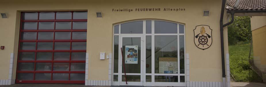 Die Altenploser Bürger wählen im Feuerwehrhaus