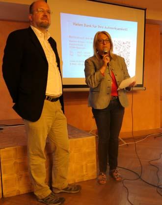 Rechtsanwalt Jens Bernsdorf mit Sabina Habla