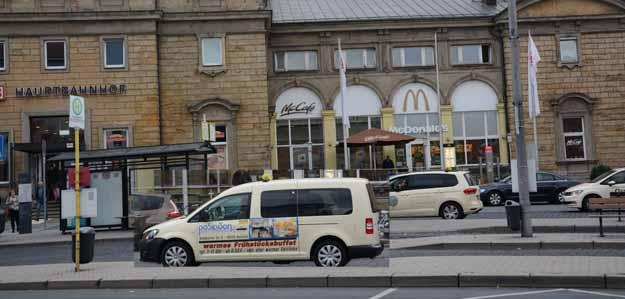 Anruflinien-Taxi nach Heinersreuth