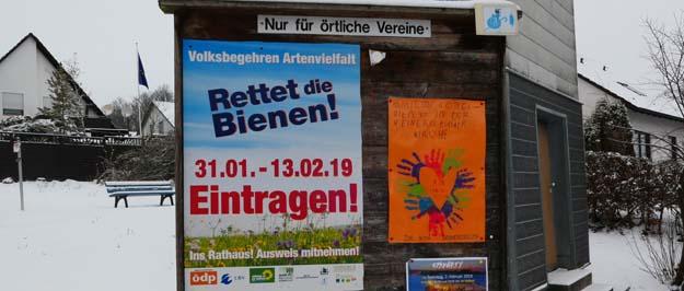 Volksbegehren Arten- und Naturschutz Heinersreuth