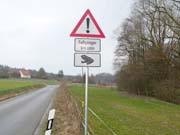 Vorsicht Krötenwanderung