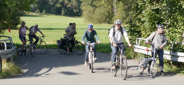 Grüne Heinrsreuth luden zur Radtour