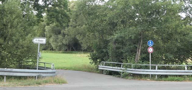 Neuer Radweg von Unterwaiz  nach Altenlos