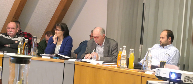 Gemeinderatssitzung Heinersreuth Februar 2020