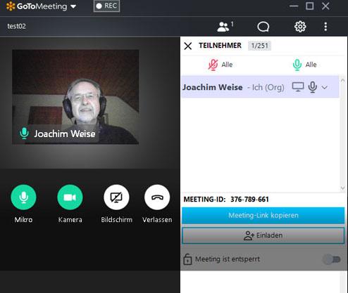 Online-Meeting der Grünen