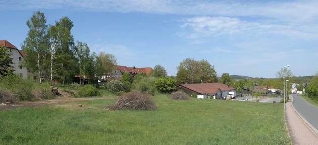 Gewerbeansiedlung in Altenplos