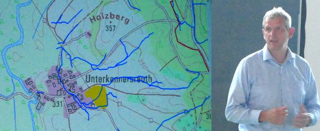 Heinersreuth - Starkregenanalyse Professor Heiko Sieker