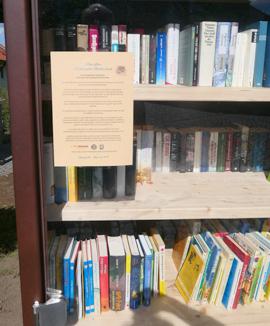 Nutzungsanleitung für den Bücherschrank in Heinersreuth
