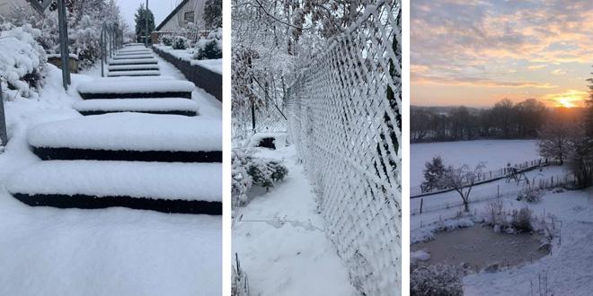 Winterbilder Gemeinde Heinersreuth