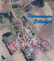 Hausnummern in Cottenbach