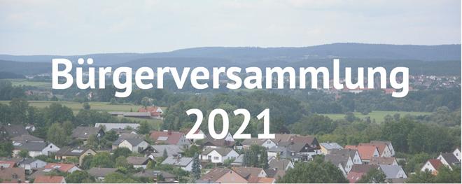 Heinersreuth - Bürgerversammlung 2021